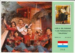 Paraguay Souvenir Sheet As Record LP Michel Nr. 460 ** Iv28-2 - Paraguay