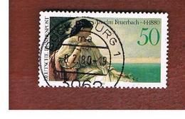 GERMANIA (GERMANY) - SG 1913  - 1980 A. FEUERBACH, ARTIST   -  USED - [7] République Fédérale