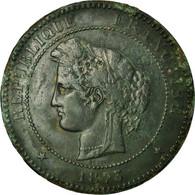 Monnaie, France, Cérès, 10 Centimes, 1873, Paris, TB+, Bronze, Gadoury:265a - France