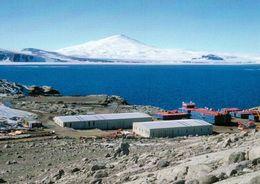 6 AK Antarctica Antarktis * Forschungsstationen Dumont D'Urville Frankreich Und Mario Zuchelli Italien Und Landschaften - Ansichtskarten