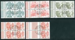Swiss Booklet Page Michel 145-149 O Heftchen Blatt Hd62 - Postzegelboekjes