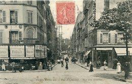 75  PARIS 17e AR   RUE D'ARMAILLE ET RUE DES ACACIAS - Arrondissement: 17