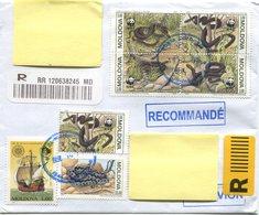 MOLDAWIEN / Reko Brief Von 2043 Kishinev Nach 8101 Gratkorn Vom 19.02.2019 - Moldawien (Moldau)