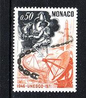 Monaco  - 1971. Ingegneria Meccanica E Comunicazioni. Mechanical Engineering And Communications.MNH - Telecom