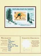Niger - 1976 - RARE - Block Mi C268 Ungezähnt ! - Winter 1976: Innsbruck