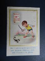 19937) ZODIACO SEGNI ZODIACALI SCORPIONE VIAGGIATA - Cartoline