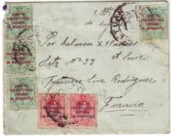 MAROC ESPAGNOL Lettre Pour La France RARE , SPANISH MAROCO - 1889-1931 Royaume: Alphonse XIII