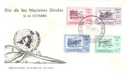 ARGENTINA NACIONES UNIDAS 1960 COVER (MAGG190136) - FDC