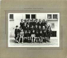 """3990 """"RICORDO SCOLASTICO-CLASSE II-H - ANNO E LUOGO SCONOSCIUTI"""" FOTO ORIG. - Identified Persons"""
