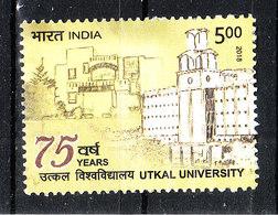 India - 2018. Università  Utkal. University - Architettura