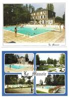 "Anglès "" Le Manoir "" Camping Hotel DiscothèqueLot De 2 Cartes Différentes - Angles"