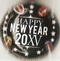 De Venoge N°231g, New Year 2015 - Champagne