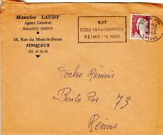 FRANCE - 1964 - Lettre Commerciale (balance Testut) De Reims Pour Reims - 29 Février - France