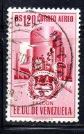 CI1254 - VENEZUELA 1953, Posta Aerea Yvert N. 488 Usato - Venezuela
