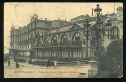 MONTE CARLO - HOTEL DE PARIS - PLACE DU CASINO - Monte-Carlo