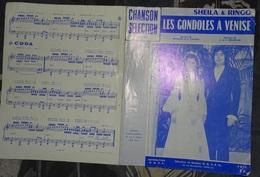 Partition - Les Gondoles à Venise - Sheila & Ringo - 1973 - Musique & Instruments