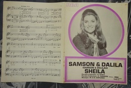 Partition - Samson & Dalila  - Sheila 1972 - Musique & Instruments