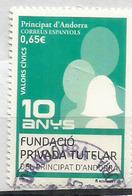 Valors Civics (valeurs Civiques Et Citoyennes), Timbre Oblitéré, 1 ère Qualité - Used Stamps