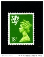 GREAT BRITAIN - 1991  SCOTLAND  18 P.  MINT NH   SG  S60 - Regionali