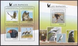 Guinea, Fauna, Birds Of Prey / MNH / 2014 - Vögel