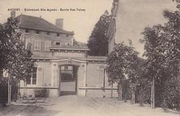 ANGERS - Externat Sainte-Agnès - Entrée Rue Volney - Angers