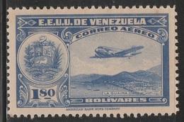 Venezuela 1938 - C101, 1.80bs - AIR MAIL - La Guaira - MNH - Venezuela