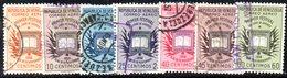 CI1249 - VENEZUELA 1956, Posta Aerea Serie Yvert N. 606/612  Usata.  Libro - Venezuela