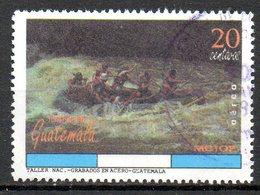 GUATEMALA. PA 846 Oblitéré De 1995. Rafting. - Rafting