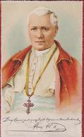 Holy Card Heilig Devotieprent Canivet Santini Vatican Paus Papst Papa Pope Pius Pio X Giuseppe Melchiorre Sarto 1906 - Images Religieuses