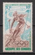 Comores - 1968 - Poste Aérienne PA N°Yv. 22 - Grenoble / Olympics - Neuf Luxe ** / MNH / Postfrisch - Komoren (1950-1975)