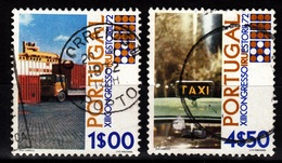 Portugal, 1972- XIII Congresso IRU. Estoril 72. Lot Of Two Stamps CancelledNH. - 1910 - ... Repubblica