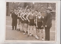 BELGIUM V IRELAND BOXING CHAMPIONS THEATRE ROYAL  25*20 CM Fonds Victor FORBIN 1864-1947 - Deportes
