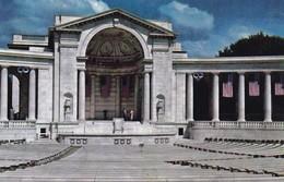 ARLINGTON MEMORIAL AMPHITHEATRE. L B PRINCE CO. CPA CIRCA 1960s - BLEUP - Arlington