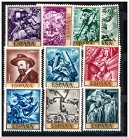 **1710-1719 PINTOR SERT (1966) - SERIE COMPLETA NUEVA SIN CHARNELA -. OFERTA POR LIQUIDACIÓN - 1931-Hoy: 2ª República - ... Juan Carlos I