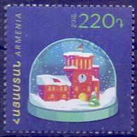 Used Armenia 2018, Christmas, Newyear 1V - Armenië