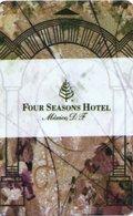 MESSICO KEY HOTEL  Four Seasons Hotel México D.F. - Hotel Keycards