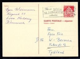 Bund Ganzsache MiNr. P 95 A Gestempelt Kolding Dänemark (GS263 - [7] República Federal