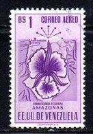 CI1271 - VENEZUELA 1953, Posta Aerea  Yvert  1 Bs N. 508  Usata . Amazonas - Venezuela