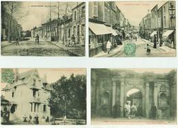 VILLES ET VILLAGES DE FRANCE- LOT 27 - Joli Lot De 35 Cartes Anciennes Divers Prix Départ 1 € - 5 - 99 Postcards