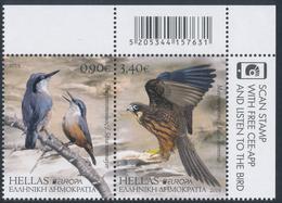 """GREECE/Griechenland, EUROPA 2019 """"National Birds** Booklet - 2019"""