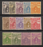Tunisie - 1923-29 - Taxe TT N°Yv. 37 à 50 - Série Complète - Neuf Luxe ** / MNH / Postfrisch - Timbres-taxe