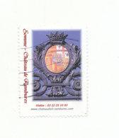 CHATEAU DE RAMBURES - Commemorative Labels