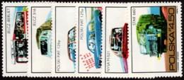 POL SC #2011-6 1973 Polish Automotives CV $1.95 - 1944-.... République