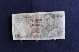 47 / Thaïlande - Bangkok,  10 Baht  /  N° 3 B 1763407 - Indonésie