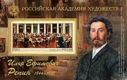 Russia 2019 Block MNH  175th Anniversary Of The Birth Of The Artist Ilya Repin Peinture Painting - Arts