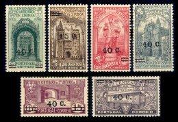PORTUGAL, AF 554/59, Yv 565/70, * MLH, F/VF, Cat. € 52,00 - Neufs