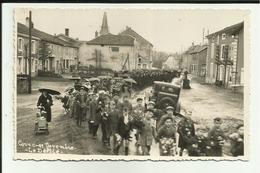 70 - Haute Saone - Corre - Carte Photo - Défilé Du 11 Novembre En L'honneur Des Fusillés - Ww2 - - Autres Communes