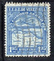 CI1264A - VENEZUELA 1932, Posta Aerea Yvert  N. 29  Usata . - Venezuela