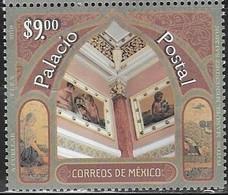MEXICO, 2019, MNH, CENTRAL POST OFFICE, ACHITECTURE,1v - Architecture
