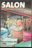 61- Sées -    Salon De La Carte Postale Et Des Collections 2003 - Bourses & Salons De Collections